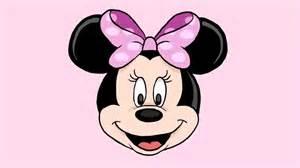 3 ways draw minnie mouse wikihow