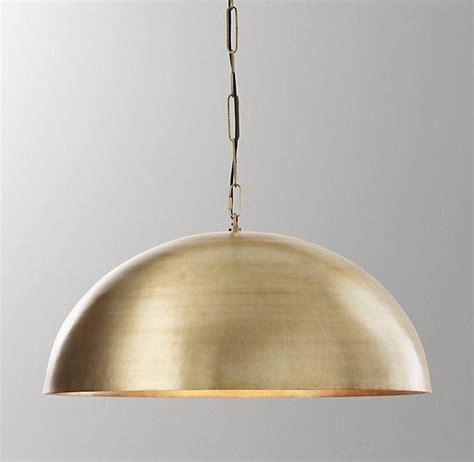 aged brass pendant light aged brass morrison pendant