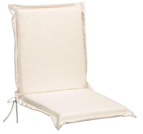 cuscini sedie giardino cuscino imbottito per sedia da giardino in tessuto colore
