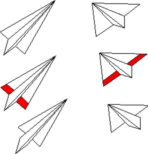 paper airplane templates for distance paper airplane activity