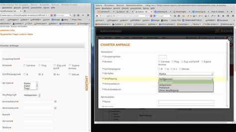 tutorial breezingforms joomla joomla formulare mit breezingforms tutorial youtube
