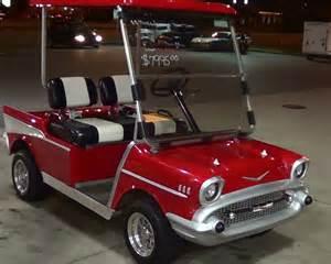 1957 chevy golf cart