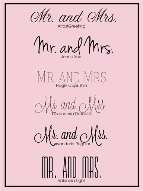 Wedding Font by 5 Free Wedding Fonts Paperblog