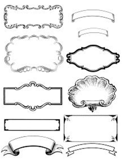 vintage sign templates free free printable vintage black and white labels kelsie