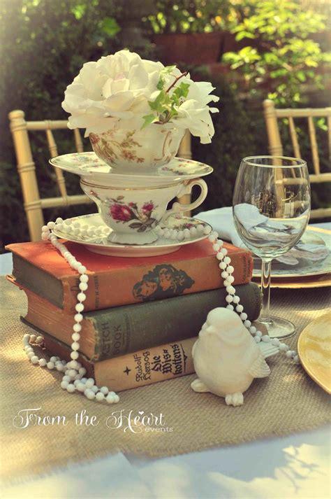 centerpieces using photos sarah vintage wedding centerpieces with books ryan wood