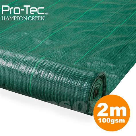 Landscape Fabric Ebay 2m Wide 100gsm Fabric Ground Cover Membrane