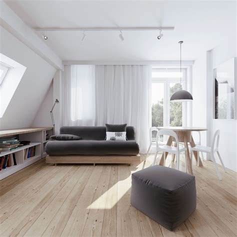 Creative Storage Ideas For Small Bedrooms beautiful attic apartment with clever design features