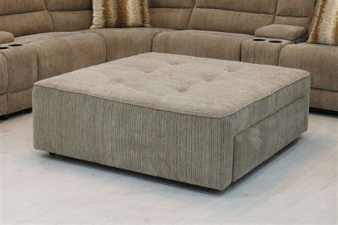 Furniture Oversized Ottoman Coffee Table For Stylish Oversized Ottoman With Storage
