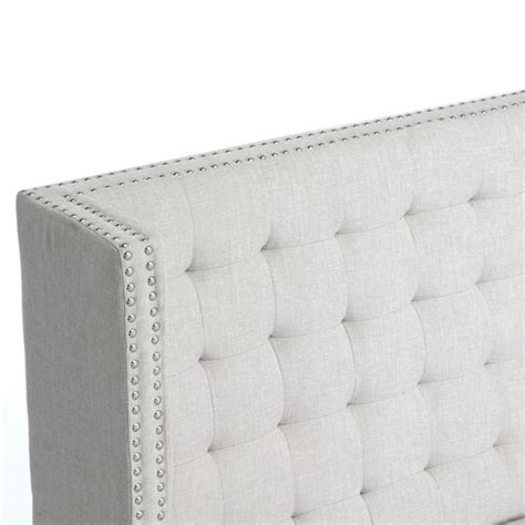 Owstynn Banquette Bench by Owstynn Linen Modern Banquette Bench By Baxton Studio
