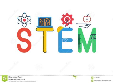 typography stem illustration of stem stock vector image of modern
