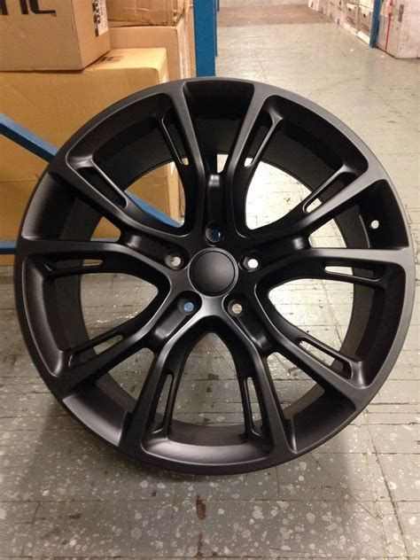 Jeep Grand 20 Inch Wheels 4 New Jeep Srt8 20 Quot Wheels Matte Black Oe 20x9 5x127 Grand