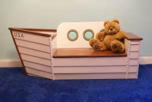 Nautical Themed Boys Room - nautical furniture toybox nautical by adamzoriginals on etsy