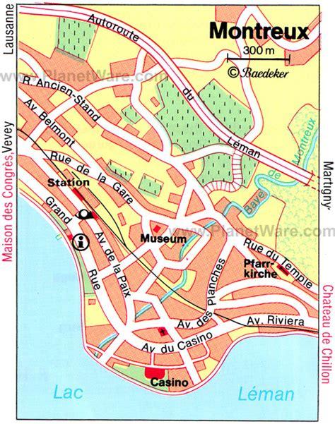 map of montreux montreux switzerland map