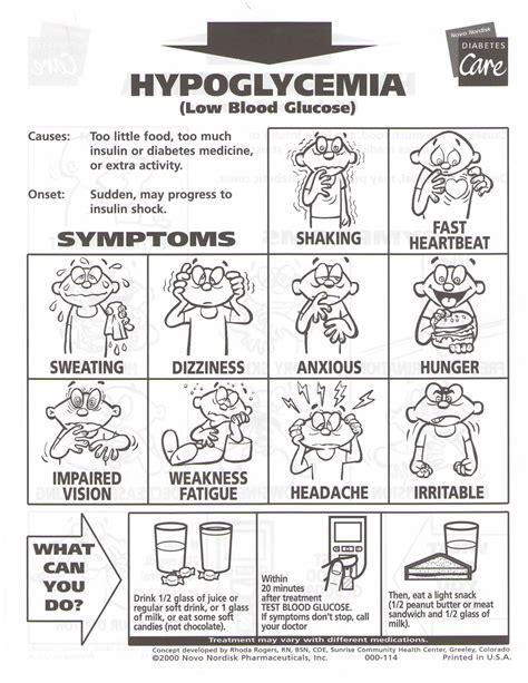 printable diabetes quiz blood sugar chart hypoglycemia www imgkid com the