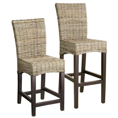 bar top chairs 17 best ideas about rattan bar stools on pinterest