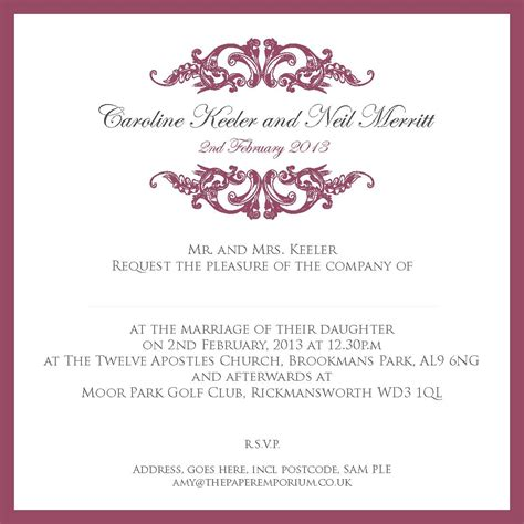 Wedding Blessing Ideas by Wedding Blessing Invitation Wording Wedding Ideas