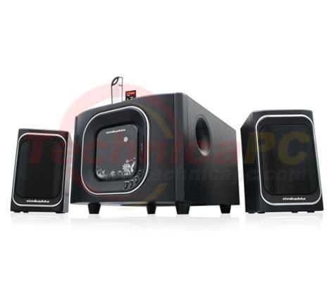 Speaker Simbadda Cst 9300n Bass simbadda cst 2700n 45w rms sdcard usb remote 2 1 speaker technicapc toko komputer