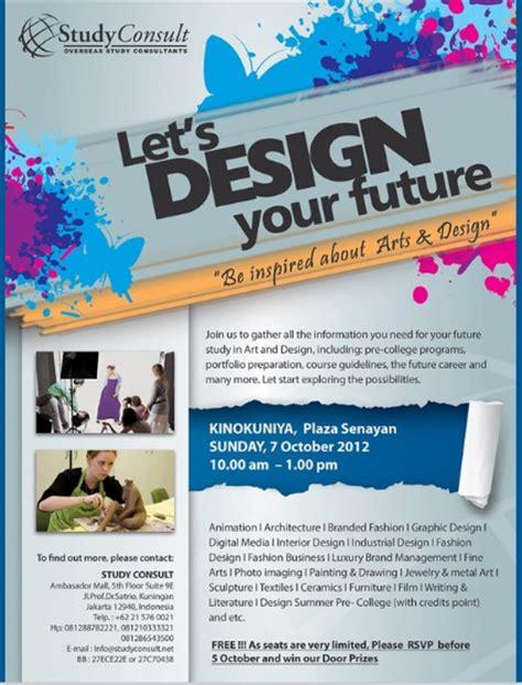 contoh desain brosur unik 30 contoh desain poster promosi keren unik modern dan