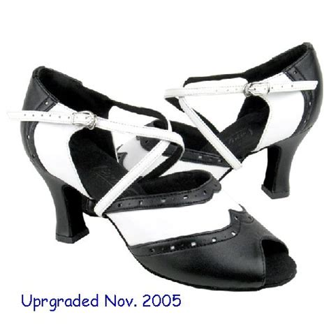 black and white swing shoes black and white swing dance shoes 6035 heel 2 5 quot sz 8