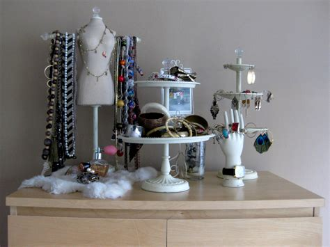 how to make jewelry displays diy project my make shift jewelry display express thru