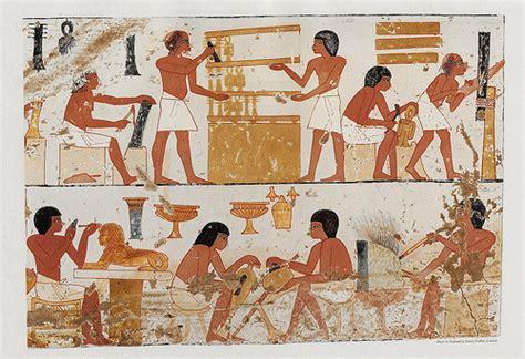 imagenes de egipcios trabajando el rinc 243 n de egipto orfebres y joyeros