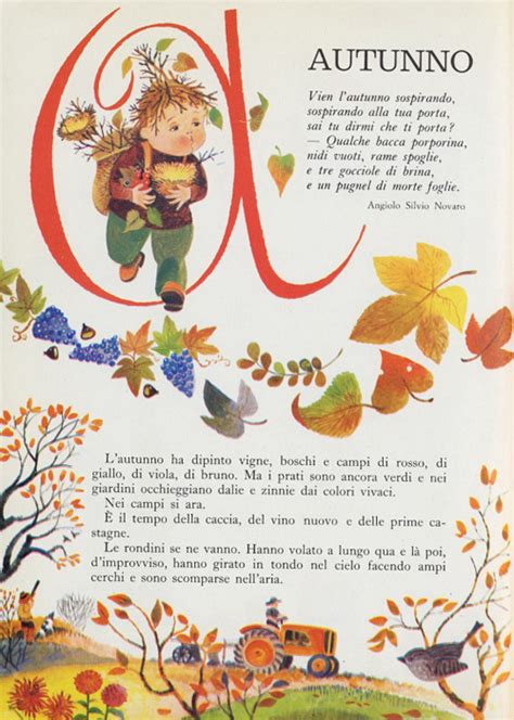 le foglie morte testo autunno di angiolo silvio novaro testi d autore su
