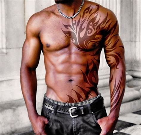 chest and back tattoo 30 best chest tattoos for men