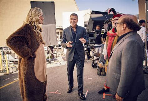 nespresso commercial actress with danny devito brandchannel nespresso convinces george clooney to appear