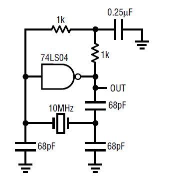 Xtal Crystall 8 Mhz circuit collection oscillators