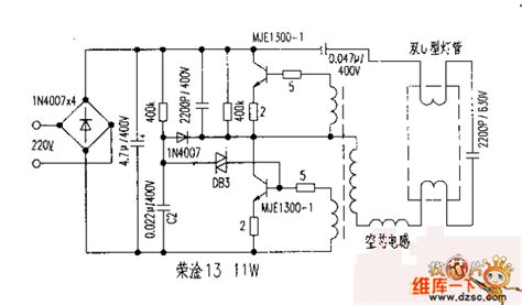 circuit diagram of electronic choke rong gan 13 electronic ballast circuit diagram basic
