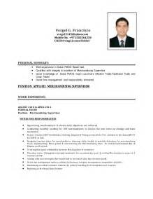 sample of merchandiser resume 2015 resumes design