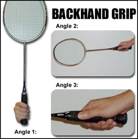 Grip Raket Nasisphysed Badminton Skills Key Points