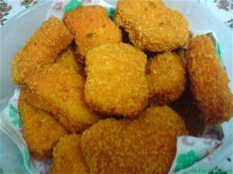 cara membuat nugget ayam isi sayuran resep nugget ayam foods drinks pinterest