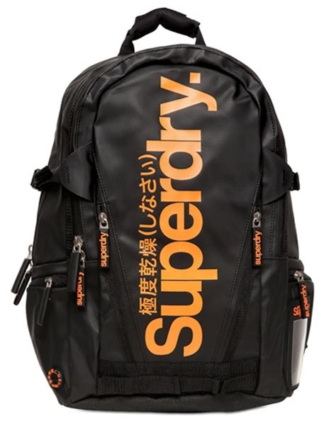 Gucci Gg Classic Chest Bag Ac896 lyst superdry classic tarpaulin backpack in black for
