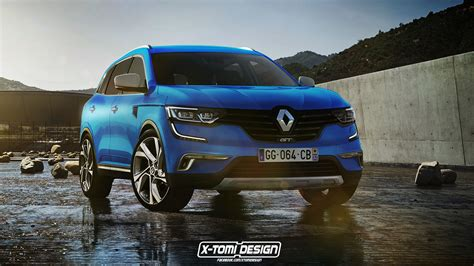 renault koleos 2017 red 2017 renault koleos gt rendered already autoevolution