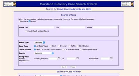 Maryland Judicail Search Advocates Disappointed In Amended Expungement Bill Maryland Daily Record