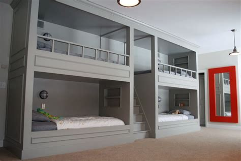 bed built into wall bunk beds built into the wall plans room decors and