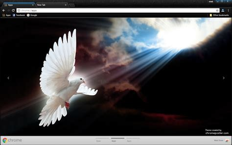 chrome themes white white dove chrome theme chromeposta