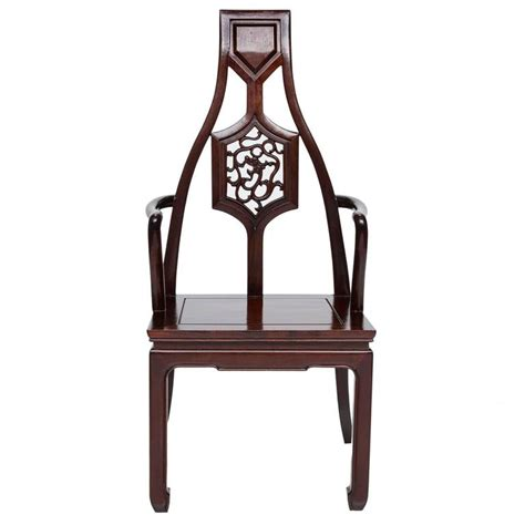 asian inspired furniture vintage set of eight mahogany asian inspired armchairs for sale at 1stdibs