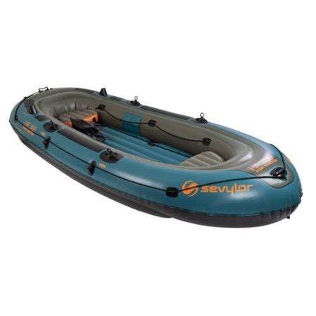 inflatable boat walmart sevylor fish hunter 6 person inflatable boat walmart