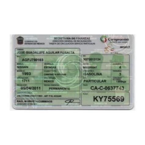 formato para pago tarjeta de circulacion 2016 en pago detarjeta de circilacion en morelos 2015 pago
