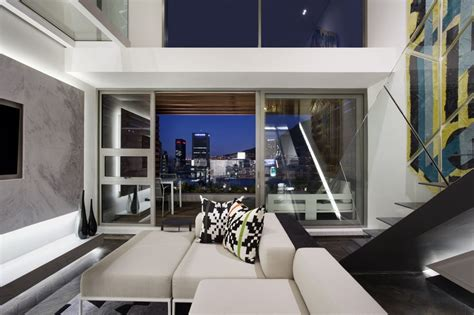 Living Room Nightclub Cape Town by Gorgeous Small Apartment Interior Design Idea By Saota