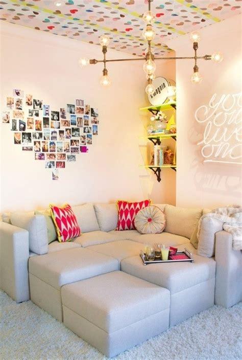 tolle wohnzimmer 3077 zimmer m 228 dchen ideen fotowand herzen decke
