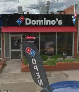 domino pizza owner melbourne woman claims her car was spray painted by a