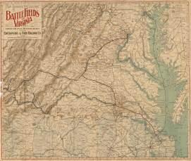 Va Tx File Txu Pclmaps Virginia Battlefields 1892 Jpg