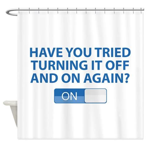 Have You Tried Turning It Off And On Again Meme - have you tried turning it off and on again shower by