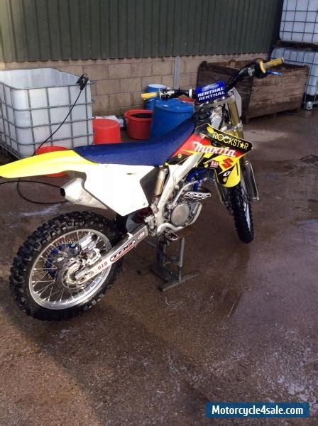 rent motocross bike uk 2007 suzuki rmz 250 for sale in united kingdom