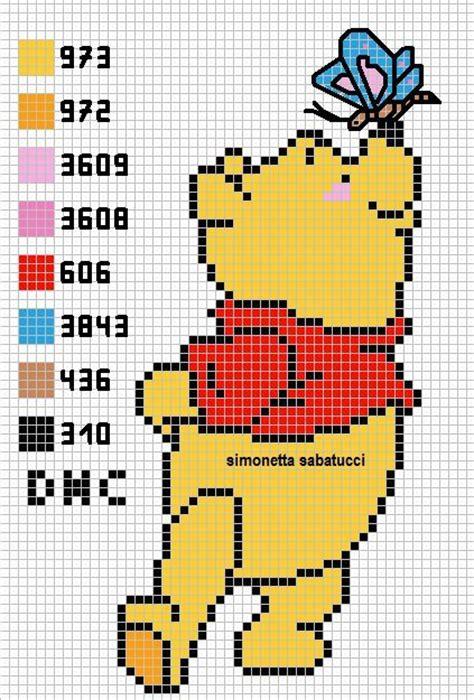 schema pattern d schema winnie the pooh by syra1974 on deviantart