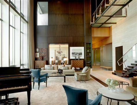 Living Room Gallery Chicago Chicago Penthouse