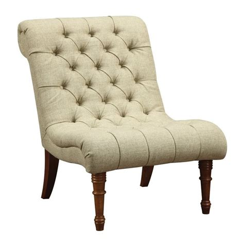 Tufted Accent Chair Coaster Tufted Accent Chair In Mossy Green 902218